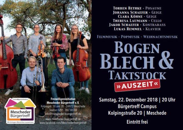 Bogen, Blech & Taktstock - Ensemble Mescheder Abiturienten 2018