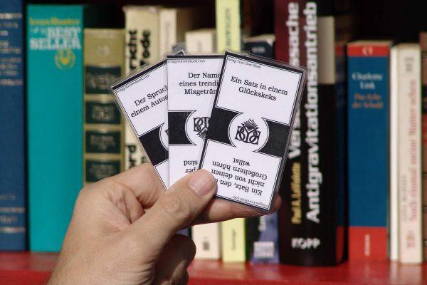 Bring Your Own Book: der Spieleabend für Bücherwürmer