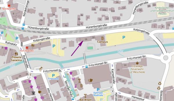 Navigation mit Google Maps